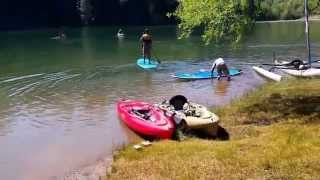 Colfax Spring (CA) United States  city photos gallery : Hobie Kayaking at Rollins Lake in Colfax,CA.