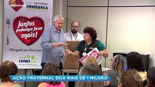Bauru: ação fraternal arrecada e distribui R$ 1,3 mil