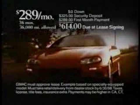 "1998 chevy camaro commercial ""who do you love"""