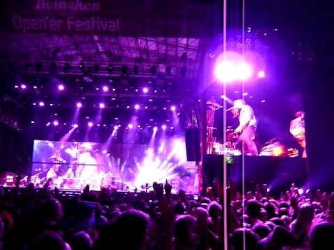 Coldplay - Viva La Vida (Open'er 2011)
