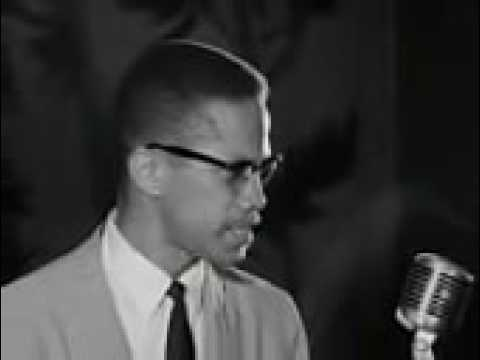 MALCOLM X  WE WANT FREEDOM BY ANY MEANS NECESSARY