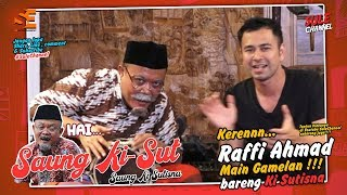 Video Kisut, Raffi Ahmad pilih Jokowi atau Prabowo ? - Saung KiSut (Ki Sutisna) MP3, 3GP, MP4, WEBM, AVI, FLV Agustus 2019