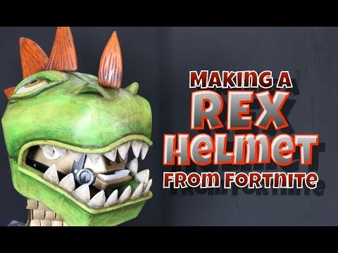 Making A Rex Helmet From Fortnite