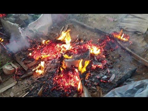 Cháy... cháy rồi...... HẬU TRƯỜNG Em Gái Sóc Trăng nướng gà.... cười té xỉu luôn - Thời lượng: 7 phút, 13 giây.