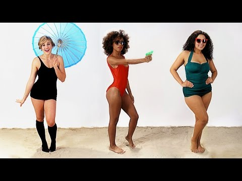 Women s Swimsuits Over The Past Century