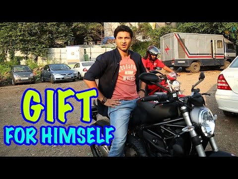 Mishal Raheja gifts himself a sports bike