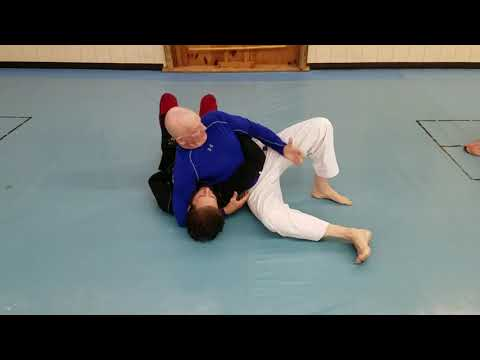 Submission series from kesa gatame