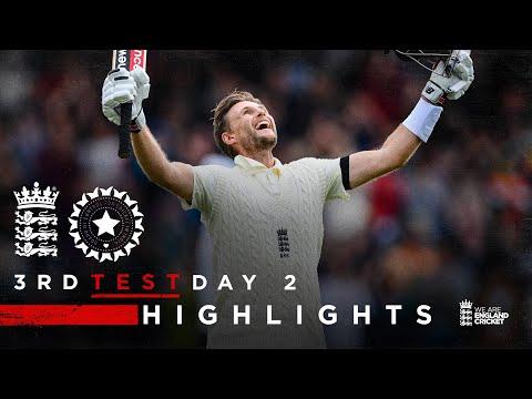 Sensational Root 100... Again! | England v India - Day 2 Highlights | 3rd LV= Insurance Test 2021