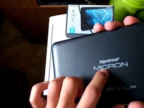 Review of the HipStreet Micron IPR200 7DTB41-8GB Android 5.1 Android tablet
