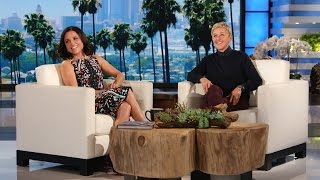 """The """"Veep"""" star reflected on crafting with Martha Stewart, Ellen and Julia Roberts, and shared details on her close encounter with the world's largest fish."""