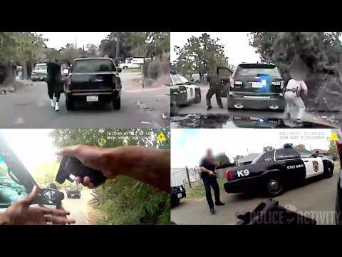 Bodycam Videos Captures Police Shootout in Sacramento, California
