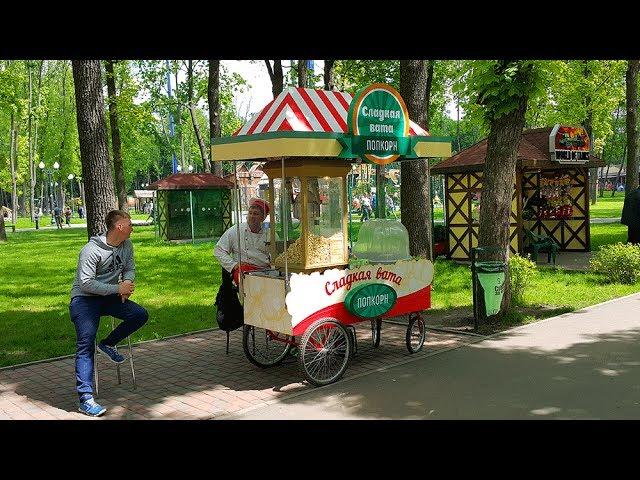 Реанимация стойки по продаже сладкой ваты