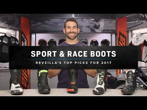 Best Motorcycle Racing Boots 2017 at RevZilla.com