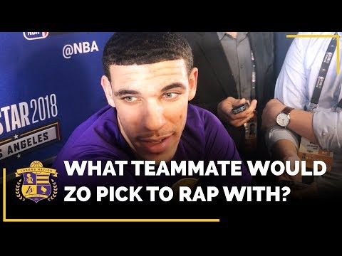 Video: Lonzo Ball Picks Which Lakers Teammate He Would Rap With