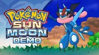 Pokemon Sun & Moon: Special Demo Edition! Part 1 ASH-GRENINJA by PokeaimMD