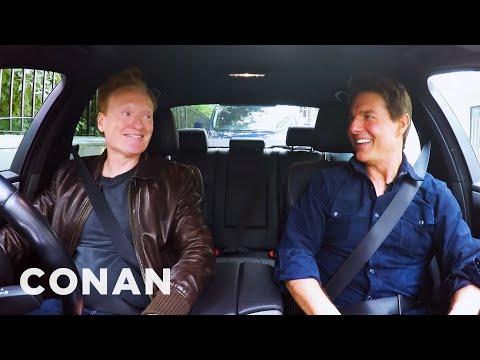 Conan Drives With Tom Cruise (видео)