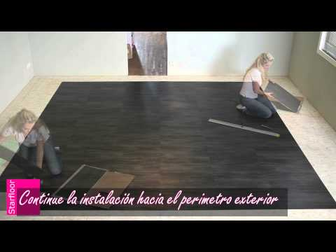 Losetas vinilicas autoadhesivas videos videos for Losetas de vinilo autoadhesivas para bano