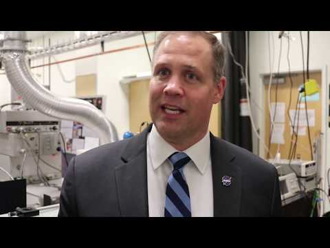 NASA Administrator Jim Bridenstine comments on space research in the College of Sciences at Georgia Tech. (YouTube video)