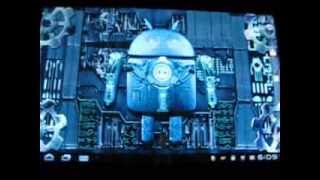 Steampunk Droid Live Wallpaper YouTube video