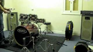 phil davidson - time lapse setting up drums
