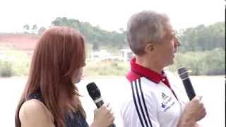 VÍDEO: Delegação do Reino Unido de canoagem destaca Minas como melhor local para treinos