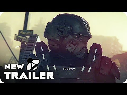 STARSHIP TROOPERS: TRAITOR OF MARS Trailer (2017) Animated Starship Troopers Sequel