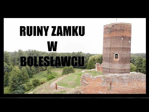 Zamek na miejscu proroczego snu Bolesława Pobożnego – ruiny w Bolesławcu