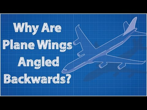 Why Are Airplane Wings Angled Backwards