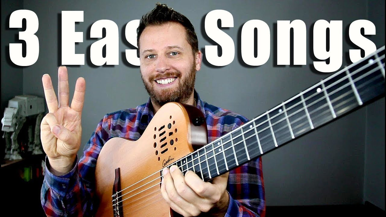3 EASY Classical Guitar Songs!