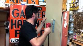 Garber Hardware YouTube video