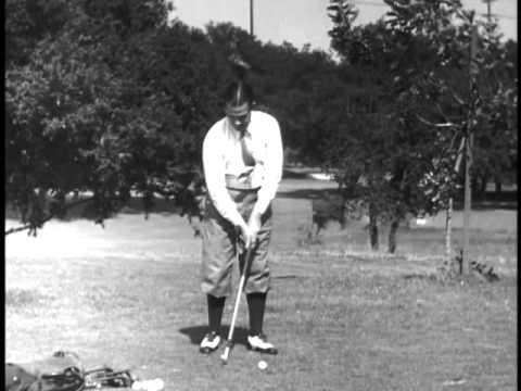 Bobby Jones golf lesson