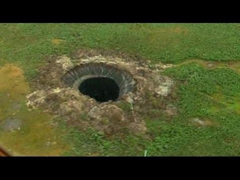 misterioso buco nero comparso in siberia!