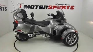 2. 2011 CAN AM SPYDER RT AUDIO & CONVENIENCE SE5 @ iMotorsports A1764