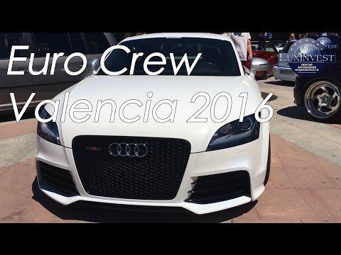Euro Crew Valencia 2016 - Выставка необычных машин в Валенсии. Audi, Wolksvagen, Mercedes, Mazda
