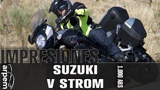 5. Suzuki V-Strom 1000 ABS - español - 2014- Videoprueba