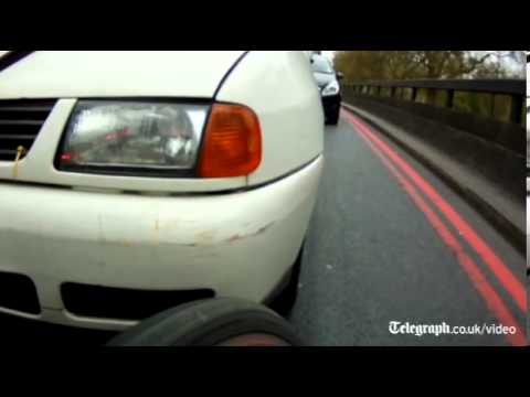 Road Rage Caught on Camera by Cyclist