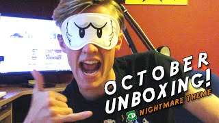 1UP BOX - OCTOBER UNBOXING! - #Nightmare