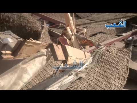مشاهد حصرية لهدم منتدى العمرانية الثقافي تحت حماية الأمن المركزي