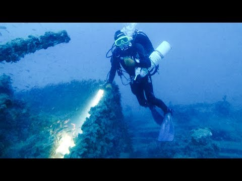 Scuba Diving on UJ2207 Wreck, German Submarine Chaser_Diving. Best of the week