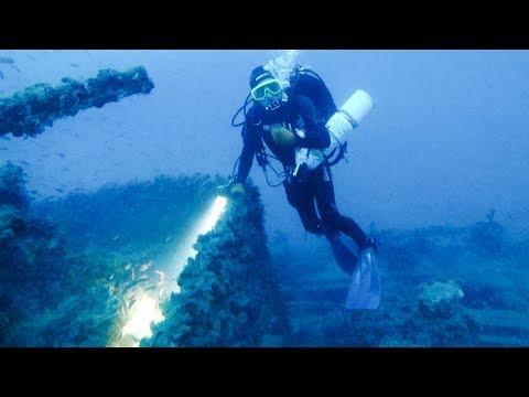 Scuba Diving on UJ2207 Wreck, German Submarine Chaser_Búvárkodás. Heti legjobbak