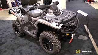 7. 2017 Can Am Outlander Max XT 650 Recreational ATV - Walkaround - 2016 Toronto ATV Show