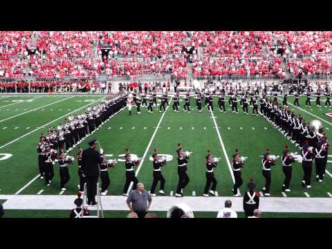 Ohio State Marching Band Ramp and Pregame 9 27 2014 OSU vs UC TBDBITL