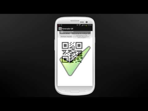 Video of QR generator