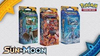 BRAND NEW All 3 Sun and Moon Starter theme decks by Demon SnowKing
