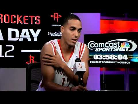 Kevin Martin - Houston Rockets Media Day 2012