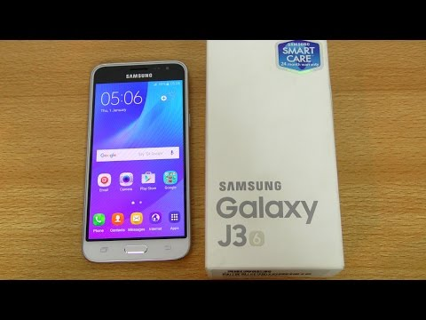 Youtube Video Samsung Galaxy J3 (2016) Dual-SIM in gold
