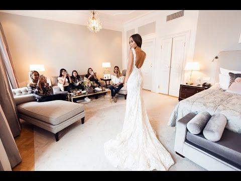 TRYING OUT WEDDING DRESSES - KENZA ZOUITEN VLOG (видео)