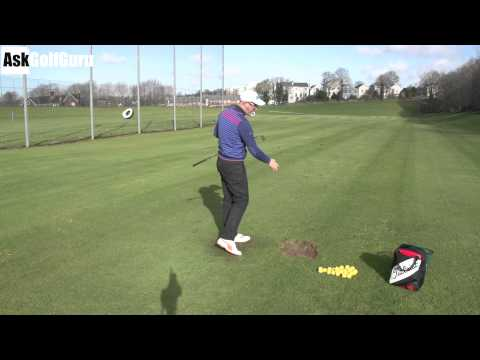 Golf Backswing Hip Sway Lesson