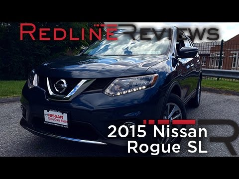 Redline Review: 2015 Nissan Rogue SL