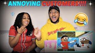 "Video Tutweezy ""Customers be like (feat. Reggie Couz)"" Spongebob Parody REACTION!!! MP3, 3GP, MP4, WEBM, AVI, FLV Desember 2017"